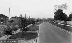 Bicester, Queen's Avenue c.1955