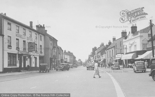 Photo of Bicester, Sheep Street c.1950