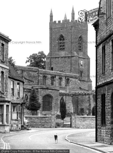Photo of Bicester, St Edburg's Church 1950