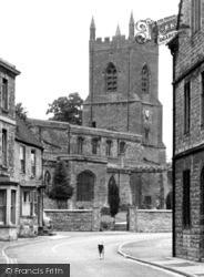 Bicester, St Edburg's Church 1950