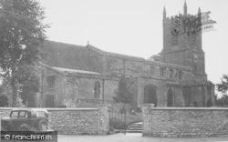 Bicester, St Edburg's Church c.1955