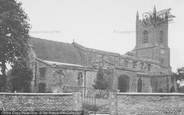 Photo of Bicester, St Edburg's Church c.1955
