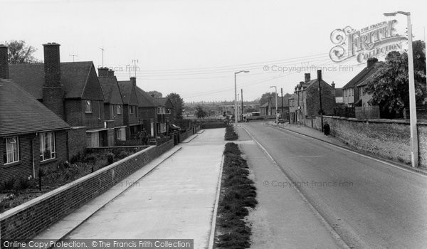 Bicester, St John's Road c.1955