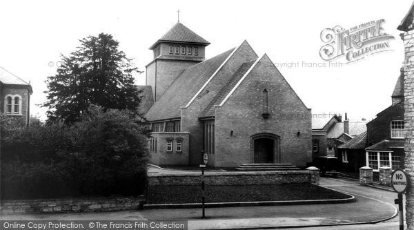 Bicester, St Mary's Catholic Church c.1960