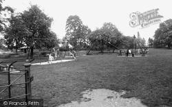 Bicester, The Children's Playground, The Garth c.1960