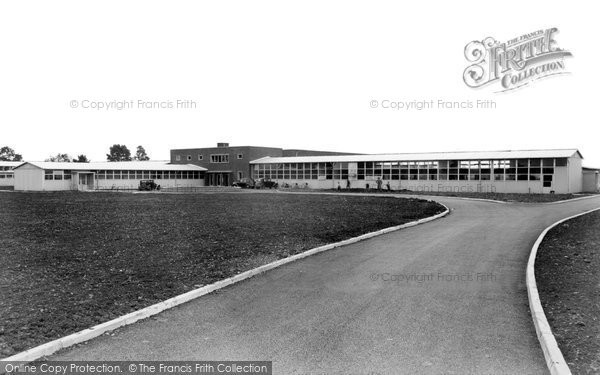 Photo of Bicester, The County Secondary School c.1955