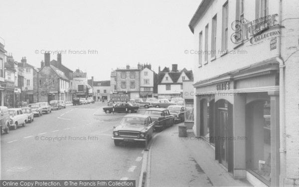 Photo of Bicester, The Market Place c.1960