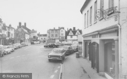 Bicester, The Market Place c.1960