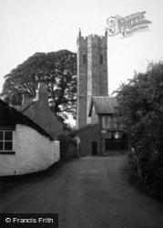 Bickington, The Village And Church 1963