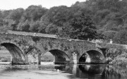 Bickleigh, The Bridge 1930