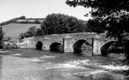 Bickleigh, The Bridge, River Exe c.1965