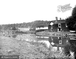 Bickleigh, The River Exe 1930