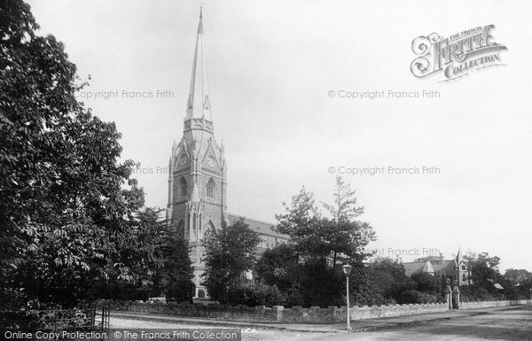 Bickley, St George's Church 1899
