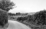 Bidborough, Gate Farm Road c.1965