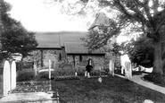 Bidborough, St Lawrence's Church 1896