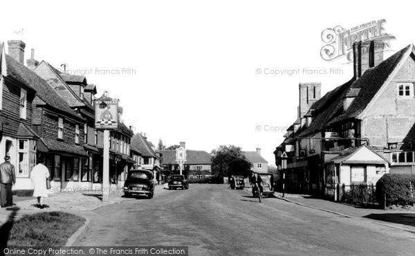 Biddenden, High Street c.1960