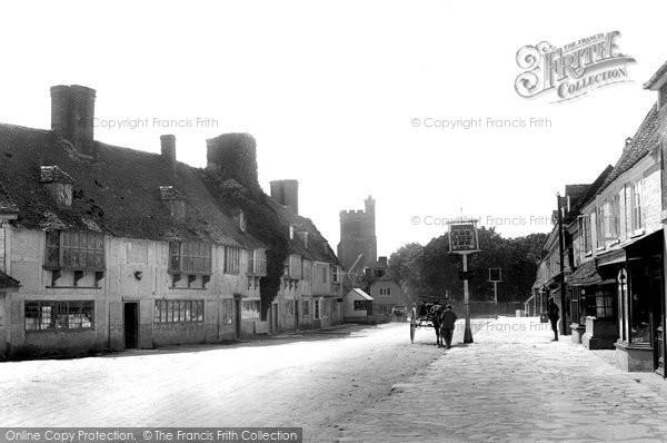 Biddenden, The Village 1901