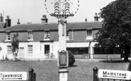 Biddenden, Village Sign c.1955