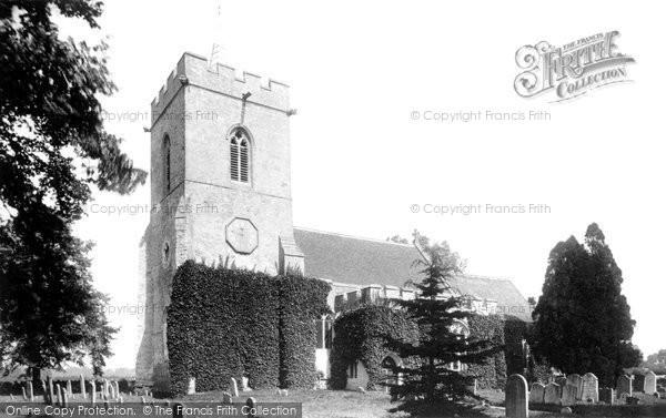 Photo of Biddenham, Church 1897