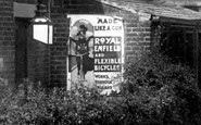 Biddulph, Advertising Board 1902