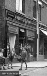 Biddulph, Boys In The High Street c.1955