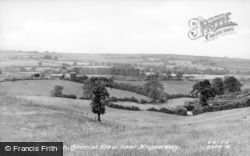 Biddulph, General View Near Knyparsley c.1955