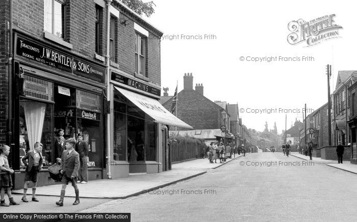 Photo of Biddulph, High Street c1955