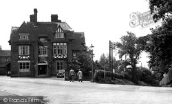 Biddulph, The Biddulph Arms Hotel c.1955