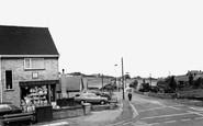 Biddulph, Woodhouse Lane c.1965