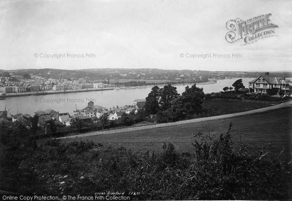 Bideford, Across The River Exe 1893