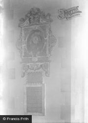 Bideford, Church, John Strange Tablet 1906