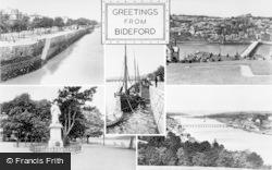 Bideford, Composite c.1950