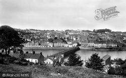 Bideford, From Across The River Torridge 1899