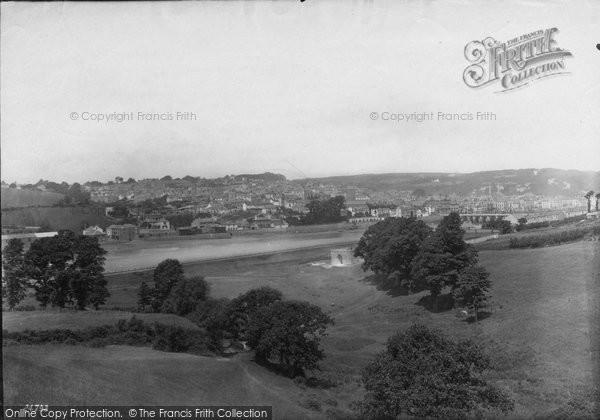 Bideford, From Round Hill 1890