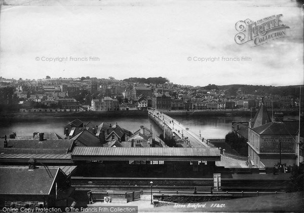 Bideford, From The Station 1893
