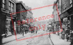 Bideford, High Street 1906