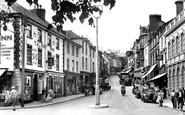 Bideford, High Street 1953