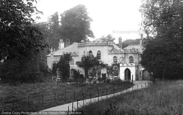 Bideford, Kenwith Castle 1906