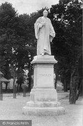 Bideford, Kingsley Statue 1906