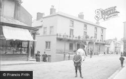 Bideford, New Inn Hotel. Market Place c.1890