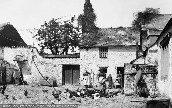 Bideford, Old Ford Farm 1890