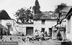 Bideford, Old Ford Farm 1890