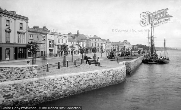 Bideford, Quay 1893