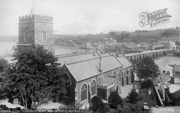 Bideford, St Mary's Church 1893