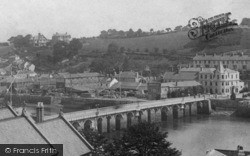 Bideford, The Bridge 1893