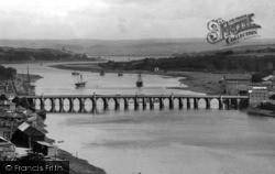 Bideford, The Bridge 1899