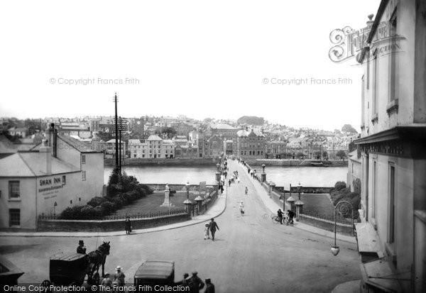 Bideford, The Bridge 1919