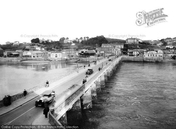 Bideford, The Bridge 1930