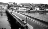 Bideford, The Bridge c.1925