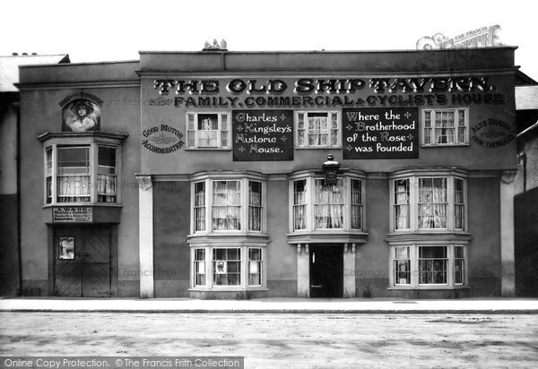 Bideford, The Old Ship Tavern 1906